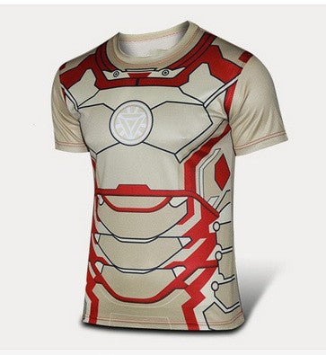 Ironman Inspired Compression Shirt