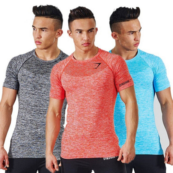Stylish Bodybuilding Compression Shirts for Men