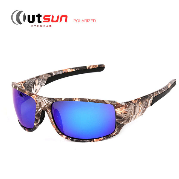 OUTSUN Camouflage Fishing Sun Glasses