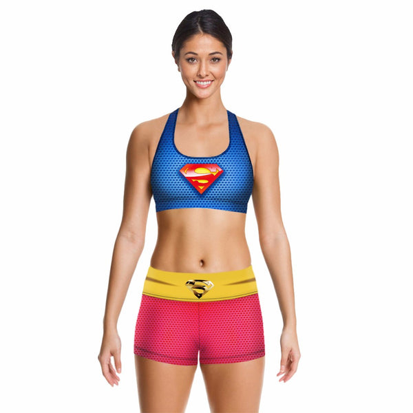 Super Girl Crop Top Only (set 1-2)