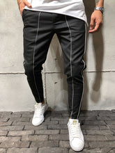Ankle Pants Front and Side Stripes 3945 - Resident Alien - Resident Alien