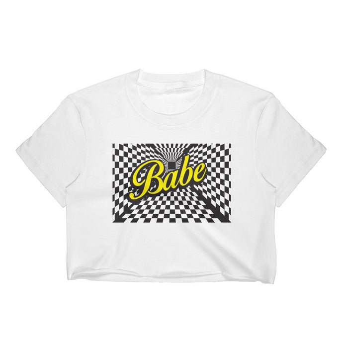 Trippy Babe Crop Top (Color Options) - Resident Alien - Resident Alien