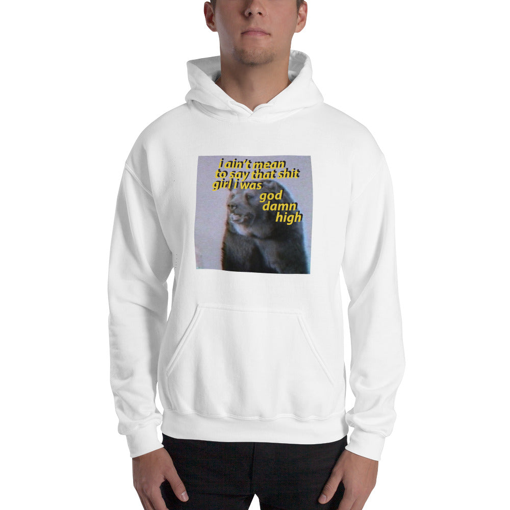 God Damn High Hoodie (Color Options) - Resident Alien - Resident Alien