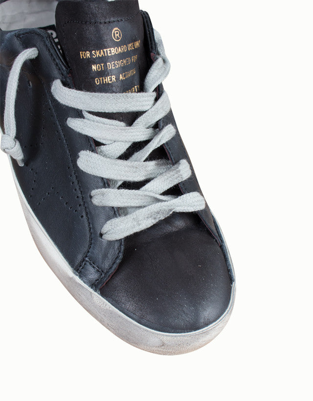 Suede & Leather Superstar Sneakers