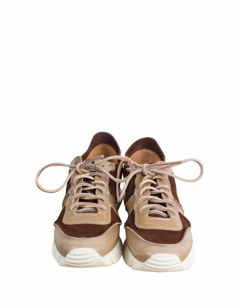 Carrera Leather Running Sneakers