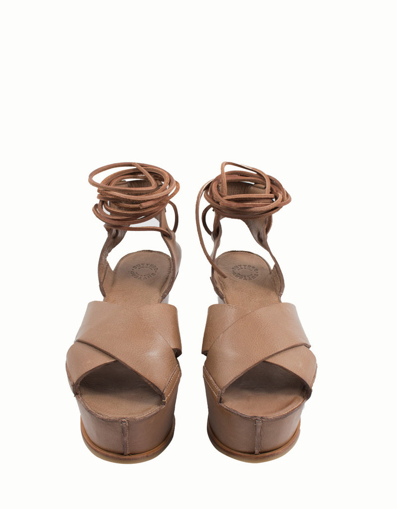 Matilde Platform Leather Sandals