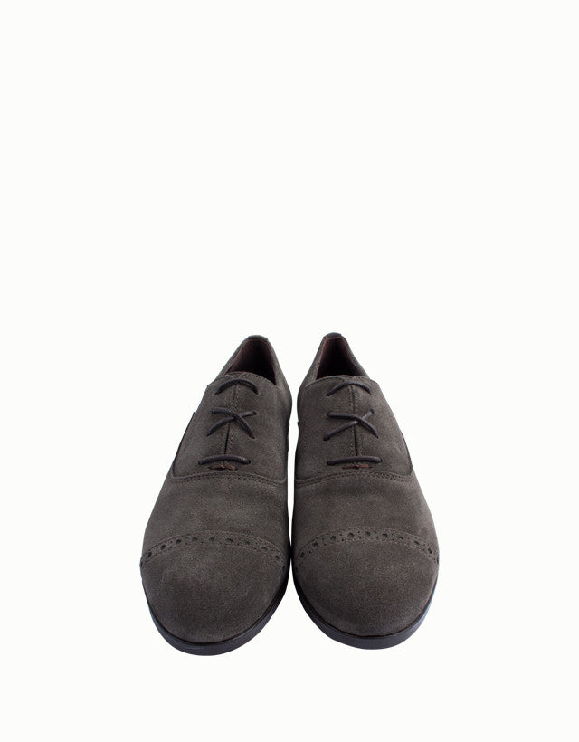 Milano Laced Suede Oxford Shoes