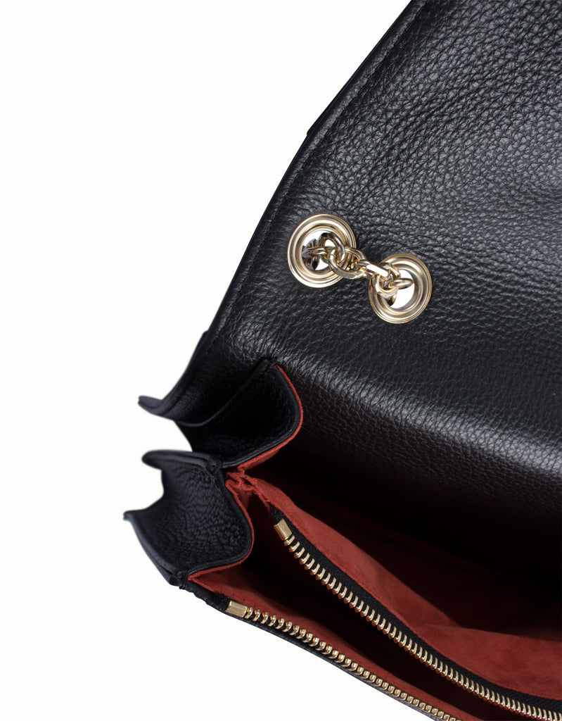 Narcissus Leather Handbag