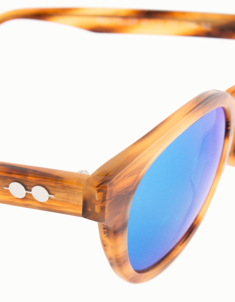 Rich Feller Mirrored Sunglasses