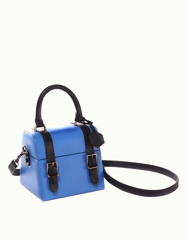 Vacchetta Leather Mini Bauletto