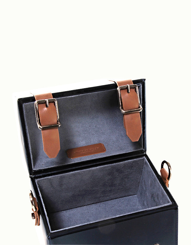 Mirror Leather Mini Bauletto