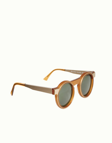 Dell Whisky Round Sunglasses