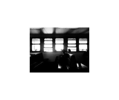 New York Notes: Windows, Staten Island Ferry (12 x 10 inch, open edition print)