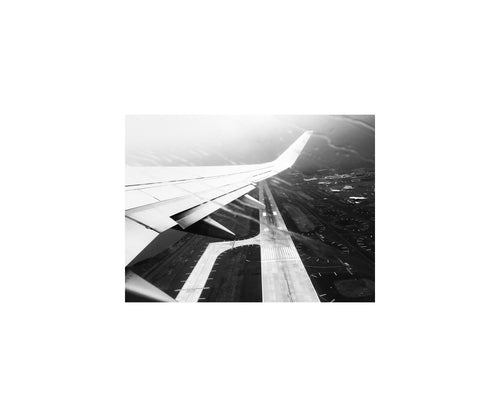 New York Notes: Leaving JFK, NYC (12 x 10 inch, open edition print)
