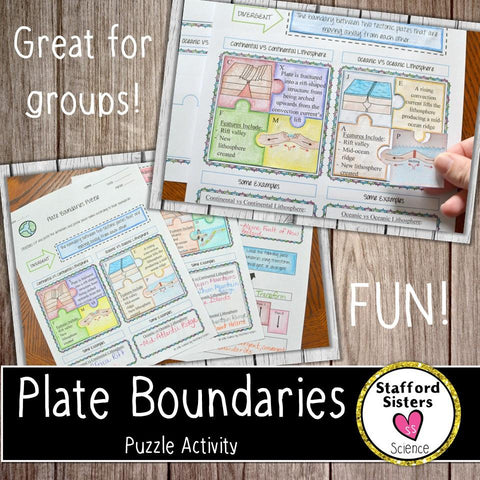 Plate Tectonics Puzzle