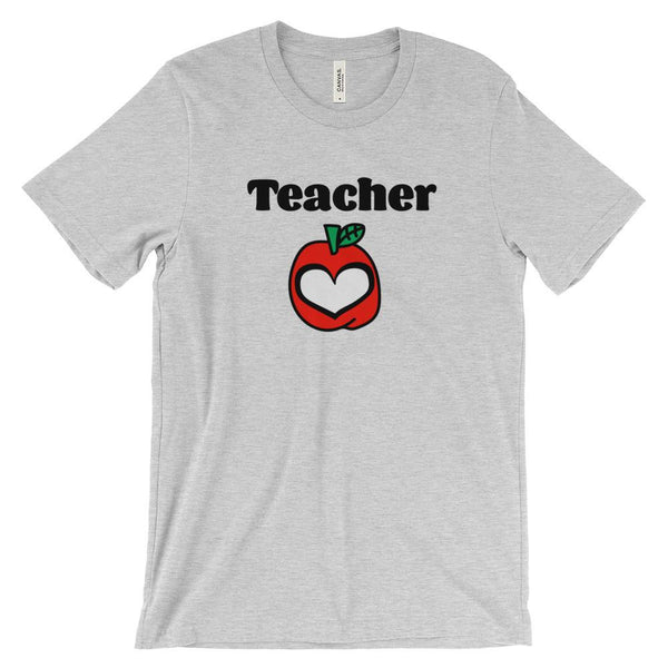 Teacher with Apple Heart