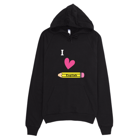 I Love English (Hoodie)