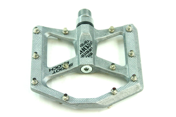 DaBomb SHOOT BLOCK MTB Pedal Set - Raw