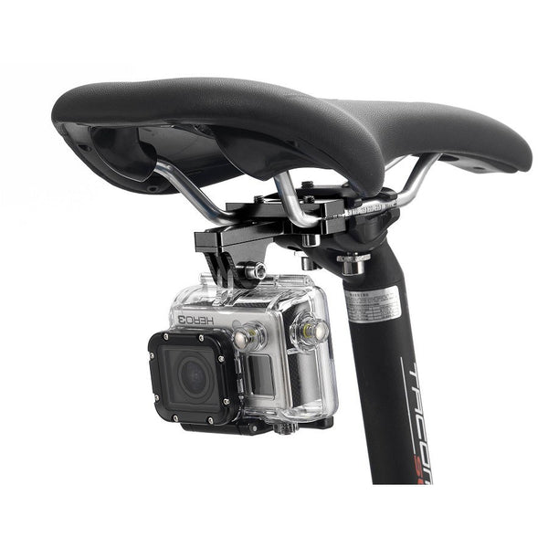 Relic Bicycle Action Camera Mount for Gopro For Front and Rear Set - Black