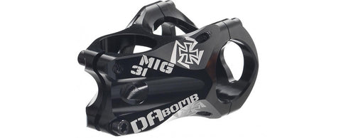DaBomb MIG31 Stem Forged Aluminum 31.8mm Clamp Dia. - Ext. 45mm - Black