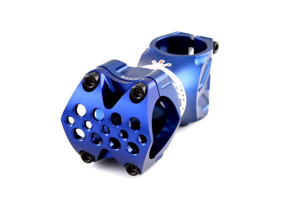 Relic Spear MTB Stem Forged Aluminum - 31.8mm bar bore - Ext. 70mm - Blue