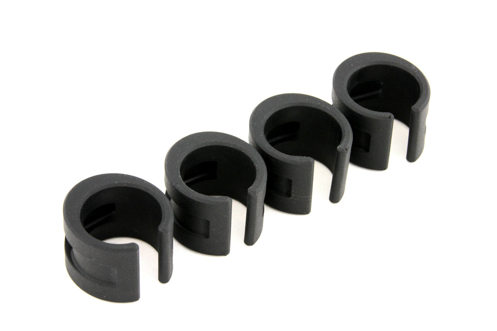 DaBomb ChainStay Proctector Ring - Pack of 4 Rings - Black