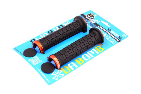 DaBomb BONBONS 2.0 Lock-On MTB Grips - Black
