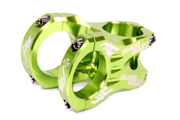 DaBomb F35 Stem Forged Aluminum 35mm Clamp Dia. - Ext. 45mm - Green