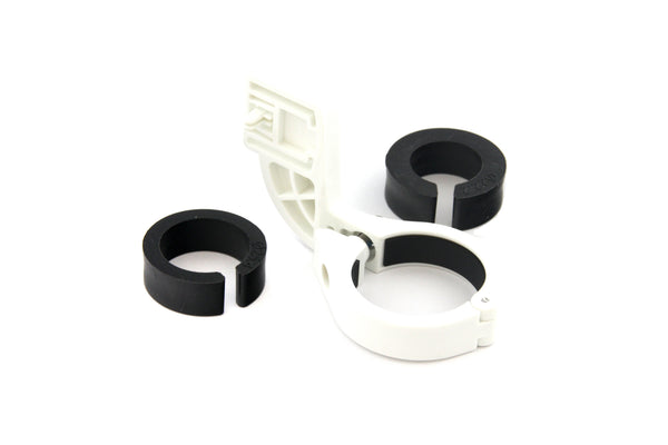 Relic Bicycle Computer Handlebar Mount for Cateye Computer - White