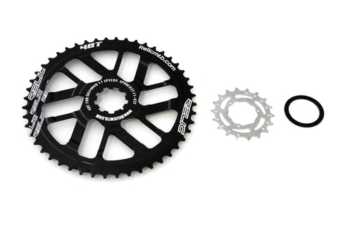 Relic 48T MTB Sprocket Kit for Shimano 11 Spd - 11-42T Cassette - Black