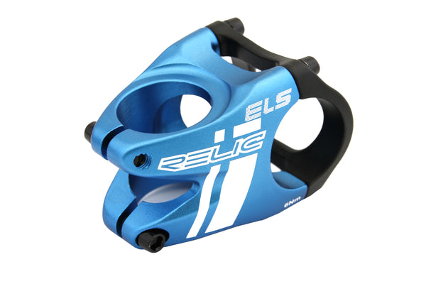 Relic ELS MTB Stem Forged Aluminum - 31.8mm Bar Bore - Ext. 35mm - Blue / Black