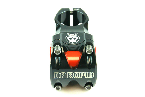 DaBomb KING Stem Forged Aluminum 31.8mm / 35mm Clamp Dia. - Ext. 50mm - Black