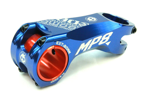 DaBomb MP8 Stem Forged Aluminum - 31.8mm / 35mm Clamp Dia. - Ext. 80mm - Blue