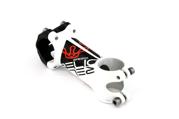 Relic LSL MTB / Road Stem Forged Aluminum - 31.8mm Bar Bore - Ext. 90mm - White