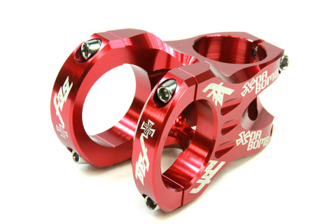 DaBomb F35 Stem Forged Aluminum 35mm Clamp Dia. - Ext. 45mm - Red