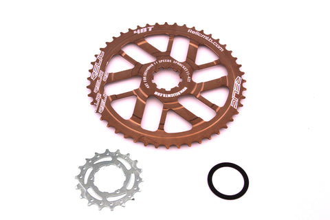 Relic 48T MTB Sprocket Kit for Shimano 11 Spd - 11-42T Cassette - Bronze