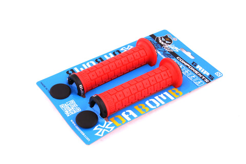 DaBomb BONBONS 2.0 Lock-On MTB Grips - Red