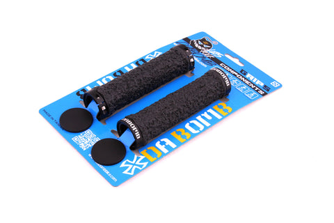 DaBomb CANDY JELLY MTB Grips - Black
