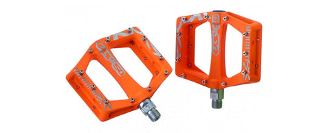 DaBomb V-50 MTB Pedal Set - Neon Orange