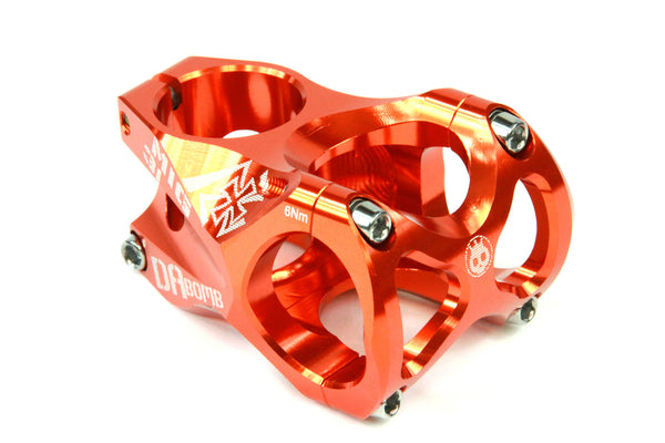 DaBomb MIG31 Stem Forged Aluminum 31.8mm Clamp Dia. - Ext. 45mm - Orange