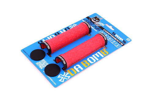 DaBomb CANDY JELLY MTB Grips - Red