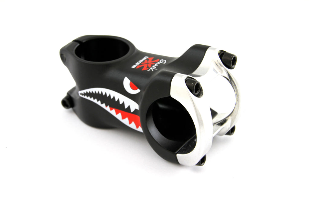 DaBomb Shark Stem Forged Aluminum 31.8mm Clamp Dia. - Ext. 60mm - Black