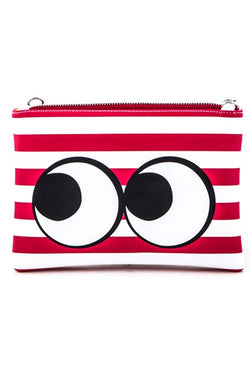 Curious Eyes Clutch/Cosmetic Bag