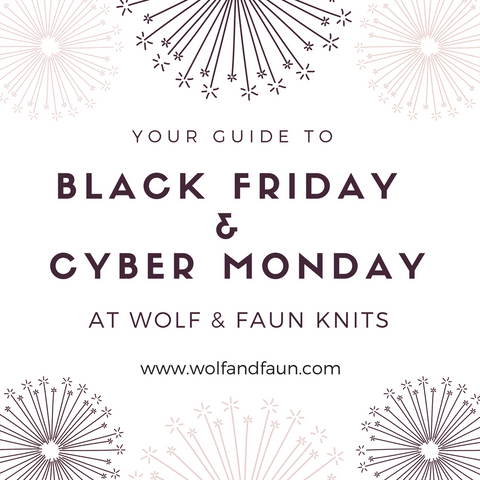 Your Guide to Black Friday / Cyber Monday at Wolf & Faun