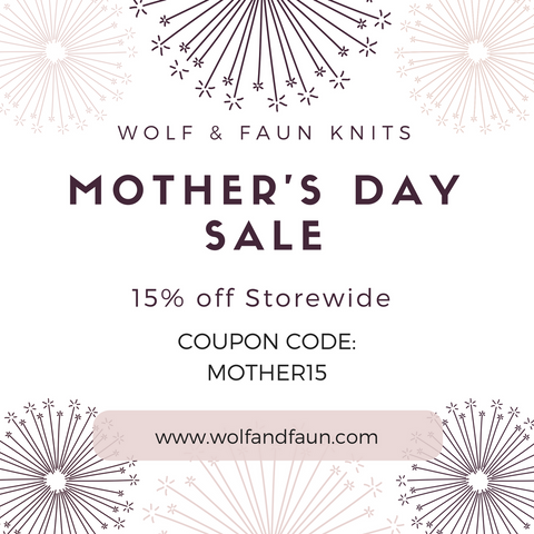 15% off storewide at Wolf & Faun