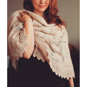 Homestead Shawl Knit Pattern