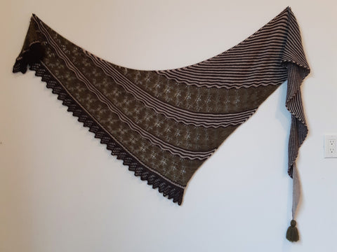 Cluran Shawl Knit Pattern