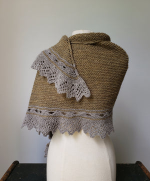 Tèarmann Shawl Knit Pattern