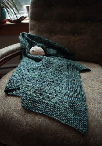 Llyr Baby Blanket Knit Pattern