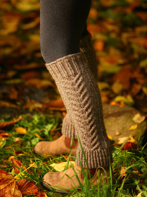 Staghorn Leg Warmers Knit Pattern